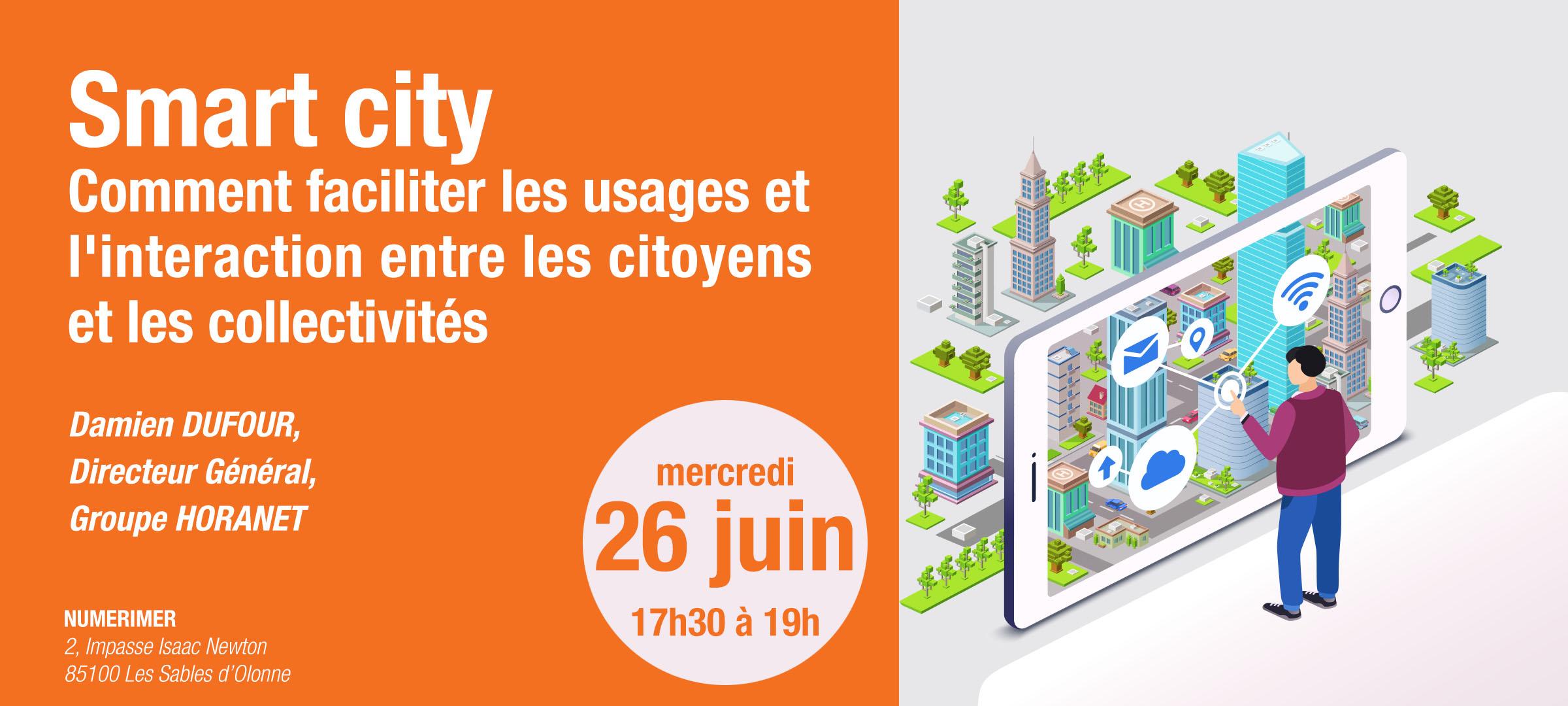 """ESAIP """"Smart city et objets connectés"""" Les villes intelligentes de demain ou comment faciliter les usages et  l'interaction entre les citoyens et les collectivités"""